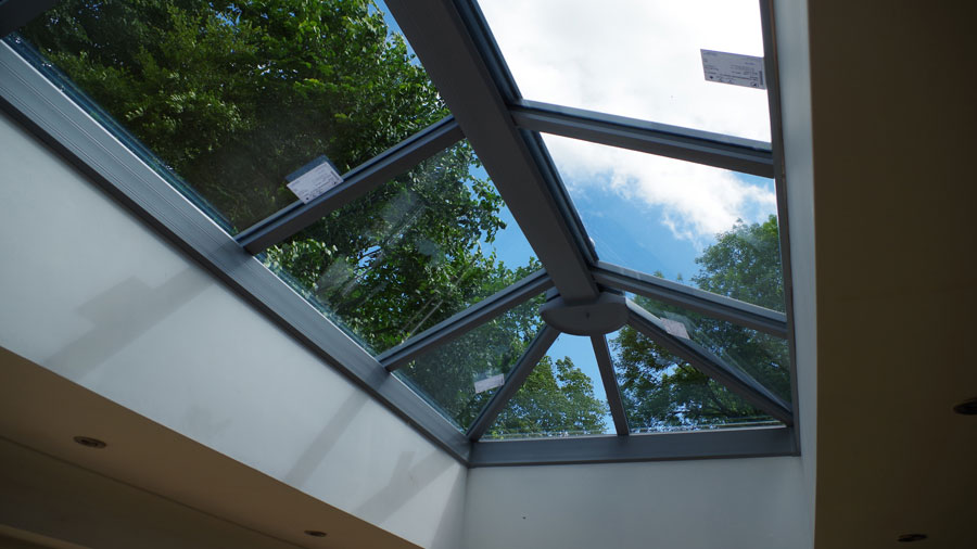 Roof Lantern Completed